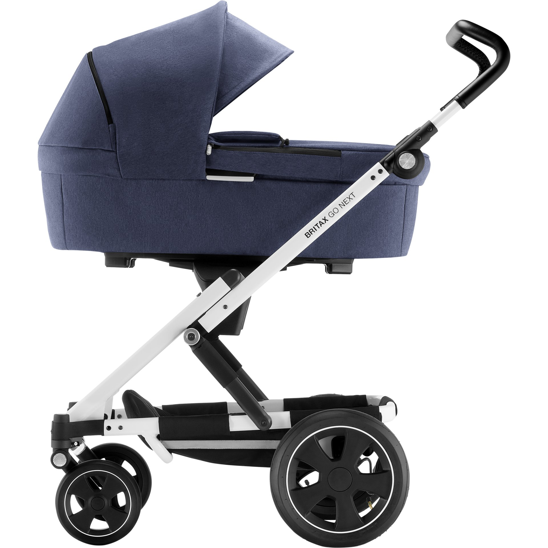 britax r mer stroller go next 2 2018 navy melange buy at kidsroom strollers. Black Bedroom Furniture Sets. Home Design Ideas