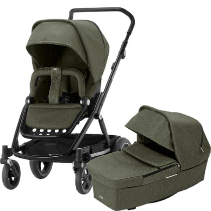 Britax Römer Stroller GO NEXT 2 - * The elegant all-in-one Britax Römer Stroller GO NEXT accompanies you and your child from birth to the toddler age and makes your life much easier.