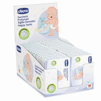 Chicco Scented Nappy Bags - * Chicco perfumed diaper bag – Perfect for the removal of used diapers.