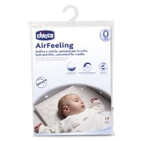 "Chicco Pillow Airfeeling for Cradle, 0m+ - * Chicco pillows Airfeeling for a crib, 0m+ - The soft pillow ""Airfeeling"" by Chicco supports the supine position from birth on."