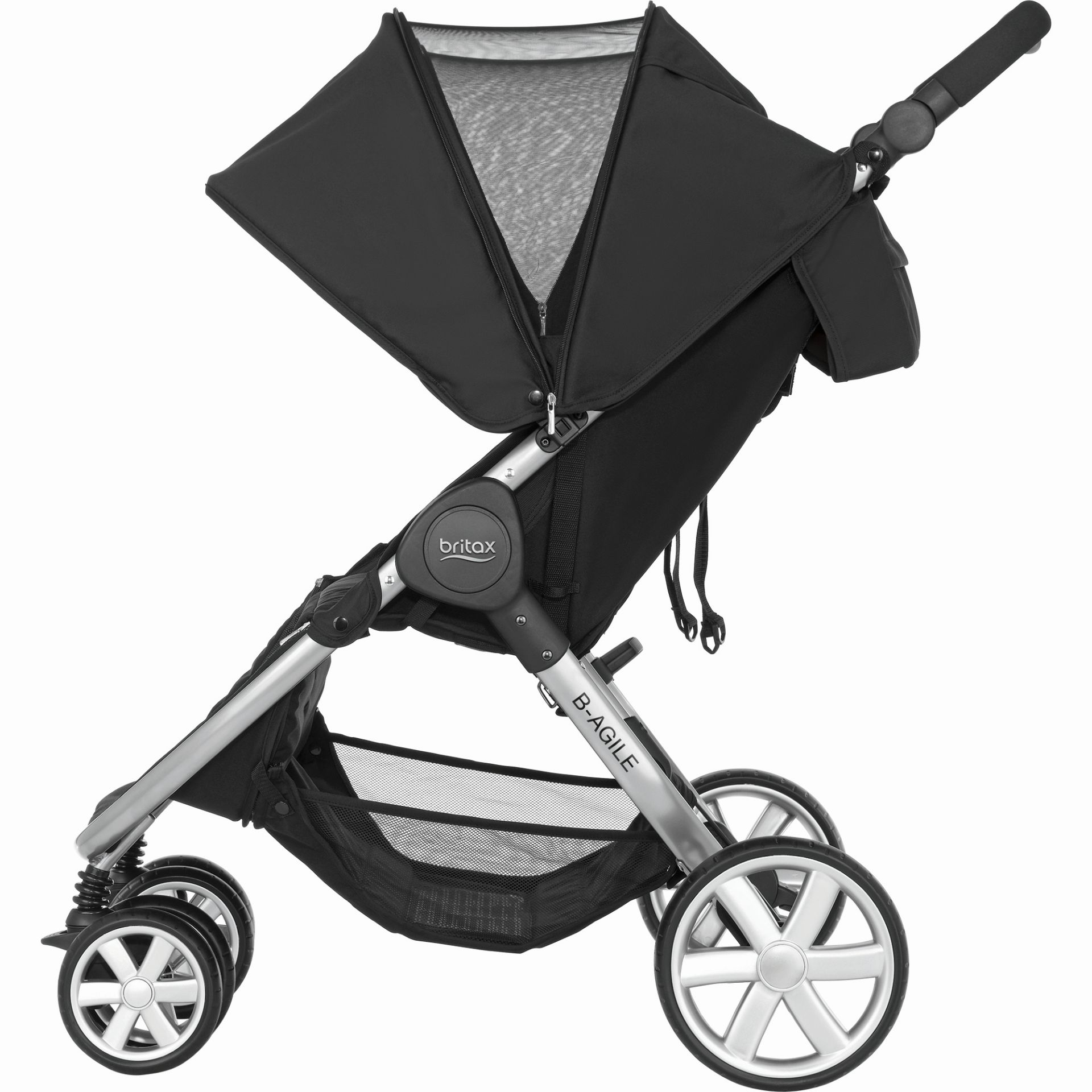 Britax Römer B AGILE DOUBLE Steel Grey 2018 large image 3
