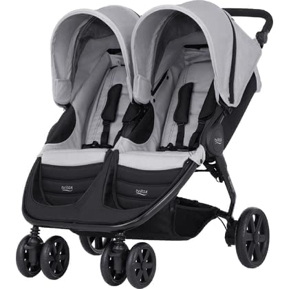 Britax Römer B-AGILE DOUBLE - * Britax Römer B-AGILE DOUBLE – The twoseater gets through every door and offers a lot of comfort.