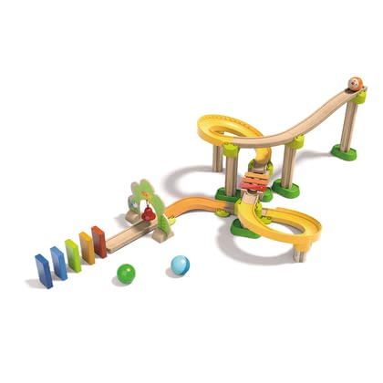 Haba My First Ball Track – Basic Pack Sounds – Ring-a-ding-a-ling - * My First Ball Track - Basic Pack Sounds - Ring-a-ding-a-ling, now music joins the first rolling fun. It's a lot of fun and also stimulates auditory skills.