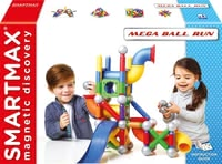SMARTMAX® Mega Ball Run - * SMARTMAX Mega Ball Run – The magnetic construction set SMARTMAX Mega Ball Run will soon be your child's favourite toy.