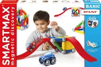 SMARTMAX® Basic Stunt - * SMARTMAX Basic Stunt – Magnetism is simply compelling – especially children are fascinated by the SMARTMAX Basic Stunt as magnetic construction set.