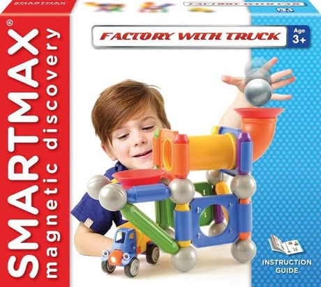 SMARTMAX Factory with Truck - large image
