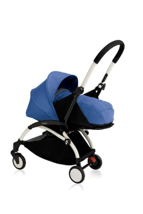 Babyzen Buggy YOYO+ including Textile Set 0+ Newborn Nest Blau 2018 - large image