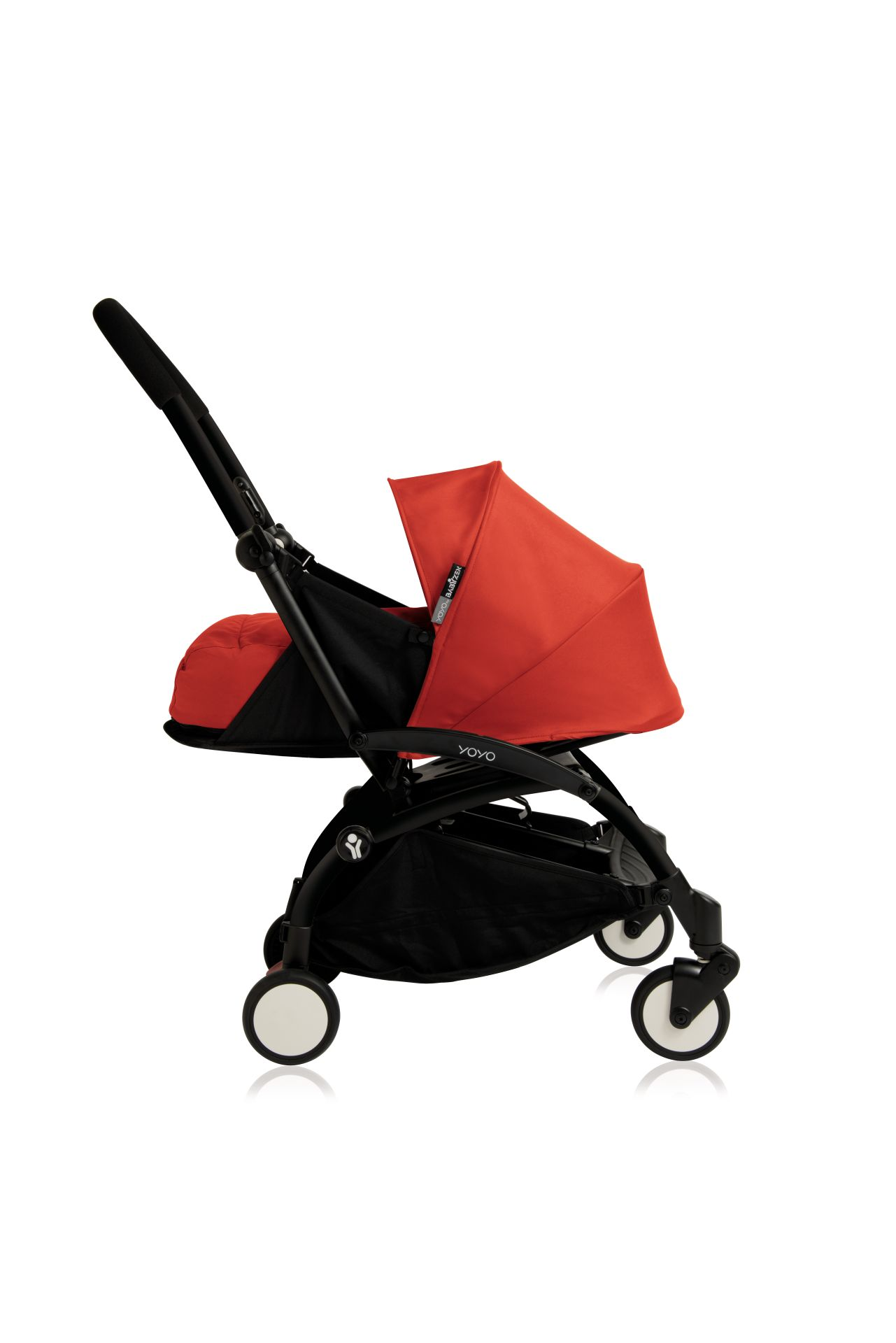 Babyzen Buggy YOYO+ including Textile Sets 0+ and 6+ 2018 Rot black ...