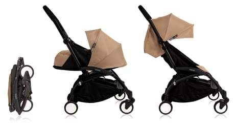 Babyzen Buggy YOYO+ including Textile Sets 0+ and 6+ taupe_taupe 2020 - large image
