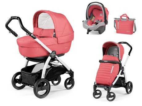 Peg-Perego Buggy Set Book S Modular Set Elite - * Peg-Perego stroller set Book S Sportivo Modular Set Elite – This stroller set has all eyes on them and offers your child the best of comfort and safety.