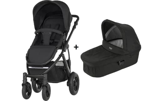 Britax Römer SMILE 2 incl. Hard Carrycot Cosmos Black 2019 - large image