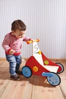 "Haba Discovery Walker ""Clicky-Clack"" - * Haba discoverer's carriage ""click clack"" – The carriage accompanies your child on his/her first steps."