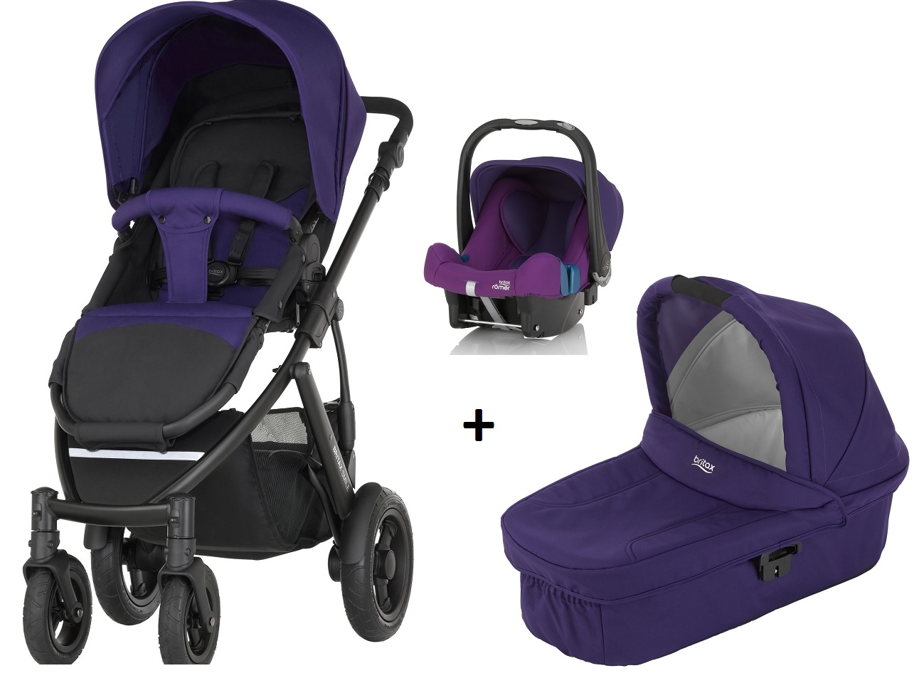 britax r mer smile 2 incl hard carrycot infant car seat. Black Bedroom Furniture Sets. Home Design Ideas