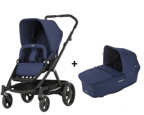 Britax Römer GO incl. GO Carrycot Prambody Ocean Navy 2017 - large image