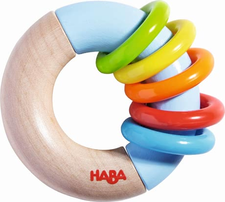 "Haba Clutching Toy ""Whorl Adventure"" - * Haba grasping toy ""ring around"" – This toy will provide a lot of fun."
