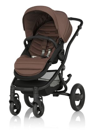 Britax Römer Complete Set AFFINITY 2 including Colour Pack Wood Brown 2016 - large image