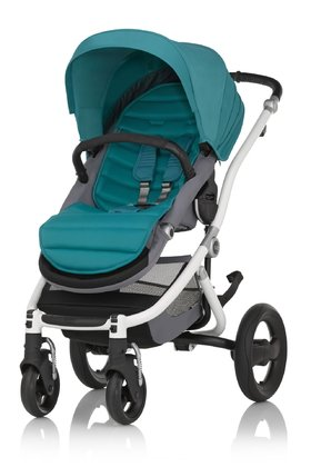 Britax Römer Complete Set AFFINITY 2 including Colour Pack Lagoon Green 2018 - large image
