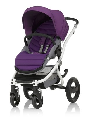 Britax Römer Complete Set AFFINITY 2 including Colour Pack Mineral Lilac 2018 - large image