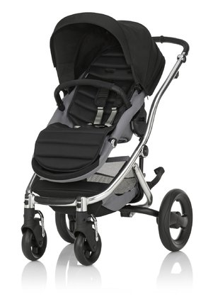 Britax Römer Complete Set AFFINITY 2 including Colour Pack Cosmos Black 2016 - large image