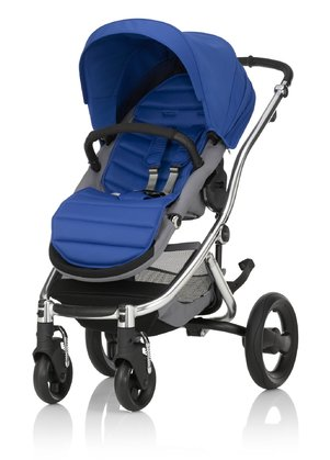 Britax Römer Complete Set AFFINITY 2 including Colour Pack Ocean Blue 2016 - large image