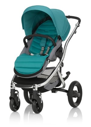 Britax Römer Complete Set AFFINITY 2 including Colour Pack Lagoon Green 2016 - large image