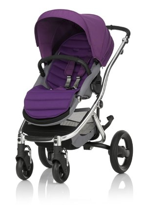 Britax Römer Complete Set AFFINITY 2 including Colour Pack Mineral Lilac 2016 - large image
