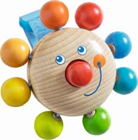 "Haba Buggy Playing Figure ""Clown"" - * Haba buggy playing figure ""Clown"" – A great companion for being on the go."