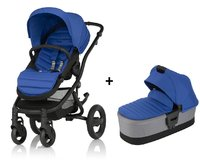 Britax AFFINITY 2 including Colour Pack + Carrycot - * Britax Römer AFFINITY 2 incl. Colour Pack + carrycot attachment – This set including the stroller, a colour pack and carrycot uses colour accents from the first day on.