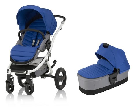 Britax Römer AFFINITY 2 including Colour Pack + Carrycot Ocean Blue 2018 - large image