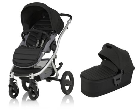 Britax Römer AFFINITY 2 including Colour Pack + Carrycot Cosmos Black 2017 - large image