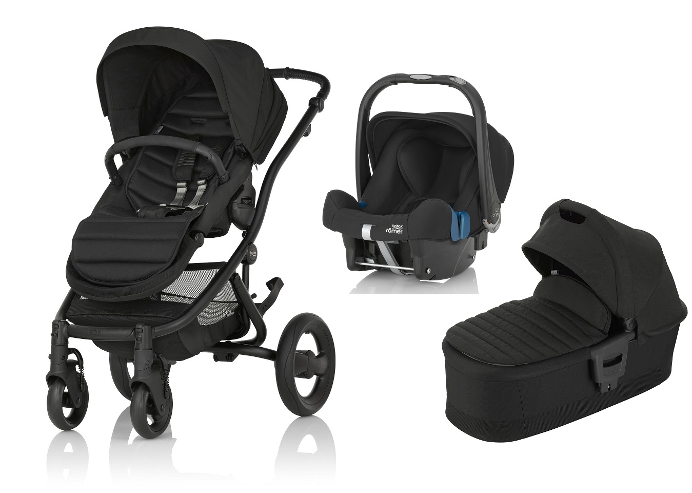britax r mer affinity 2 incl colour pack hard carrycot. Black Bedroom Furniture Sets. Home Design Ideas