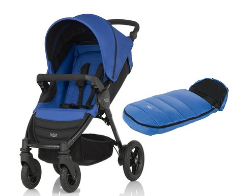 Britax B Motion 4 Incl Foot Muff Shiny Cosytoes 2017
