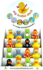 Toothie Duck Toothbrush Holder - * Toothie Duck tooth brush holder – The funny tooth brush holder will conquer every bathroom from now on.