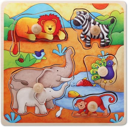 Beeboo Puzzle - * Beeboo puzzle – A colourful puzzle by Beeboo for children aged ten months.
