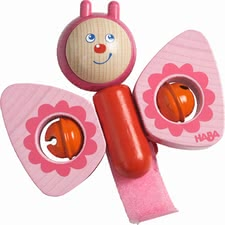 "Haba Buggy Playing Figure ""Butterfly"" - * Haba playing piece ""Butterfly"" – This cute playing piece fits to every buggy."