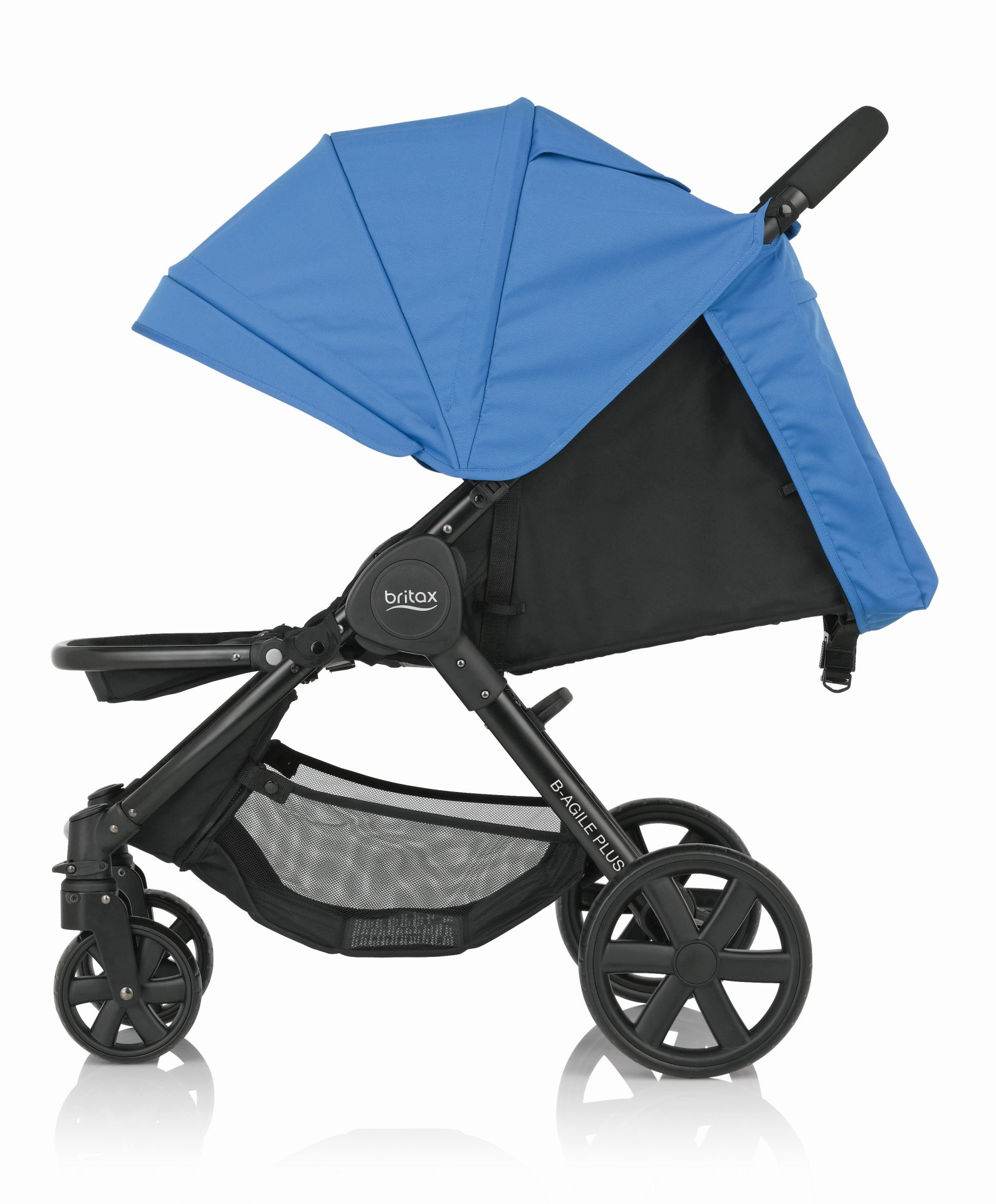 B-Agile 4 Plus Britax incl. Canopy Pack + capazo Hard Carrycot 2017 ...