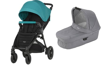 Britax B-Motion 4 Plus incl. Canopy Pack + Hard Carrycot attachment - * Britax B-Motion 4 Plus incl. Canopy Pack + Hard Carrycot attachment – This set will accompany you from the first day after your little one is born.