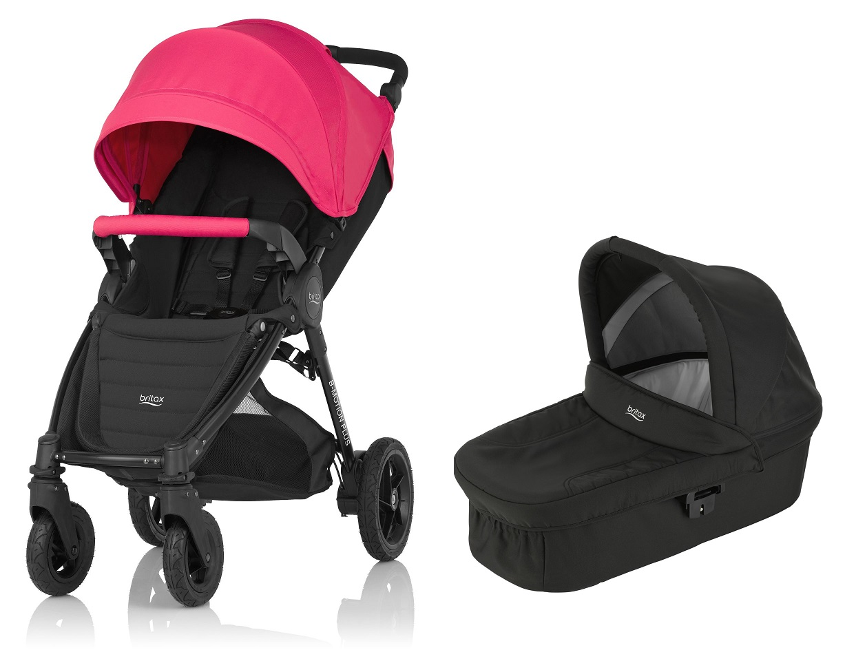 Britax B Motion 4 Plus Incl Canopy Pack Hard Carrycot