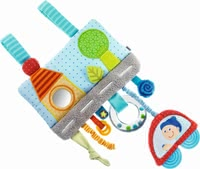 "Haba Sensory Toy ""Happy Trail"" - * Haba PlayWrap ""Happy Trails"" – The playwrap is optimal for the carseat, playpen or crib and provides and exciting ride."