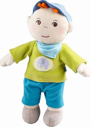 "Haba Cuddly Doll ""Jonas"" - * Haba Snup up Doll ""Jonas"" – The soft doll is a great companion for your little one."