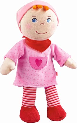 "Haba Cuddly Doll ""Inga"" - * Haba Snup up Doll ""Inga"" – The soft doll is a great companion for your little one."