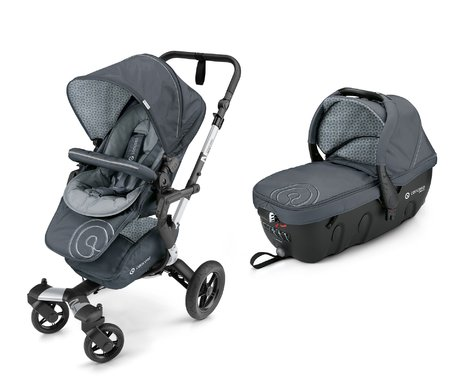 Concord Buggy NEO incl. Carrycot Sleeper 2.0 Steel Grey 2017 - large image