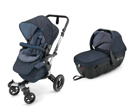 Concord Buggy NEO incl. Carrycot Sleeper 2.0 Deep Water Blue 2017 - large image