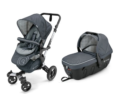 Concord Buggy NEO incl. Carrycot Sleeper 2.0 Graphite Grey 2016 - large image