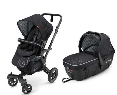 Concord Buggy NEO incl. Carrycot Sleeper 2.0 Midnight Black 2016 - large image
