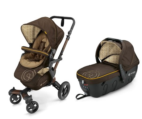 Concord Buggy NEO incl. Carrycot Sleeper 2.0 Walnut Brown 2016 - large image