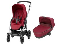 Maxi-Cosi Stella including Carrycot Dreami - * Maxi-Cosi Stella incl Dreami carrycot attachment – With this set you will offer your child everything from a comfortable carrycot to a spacious sport seat.
