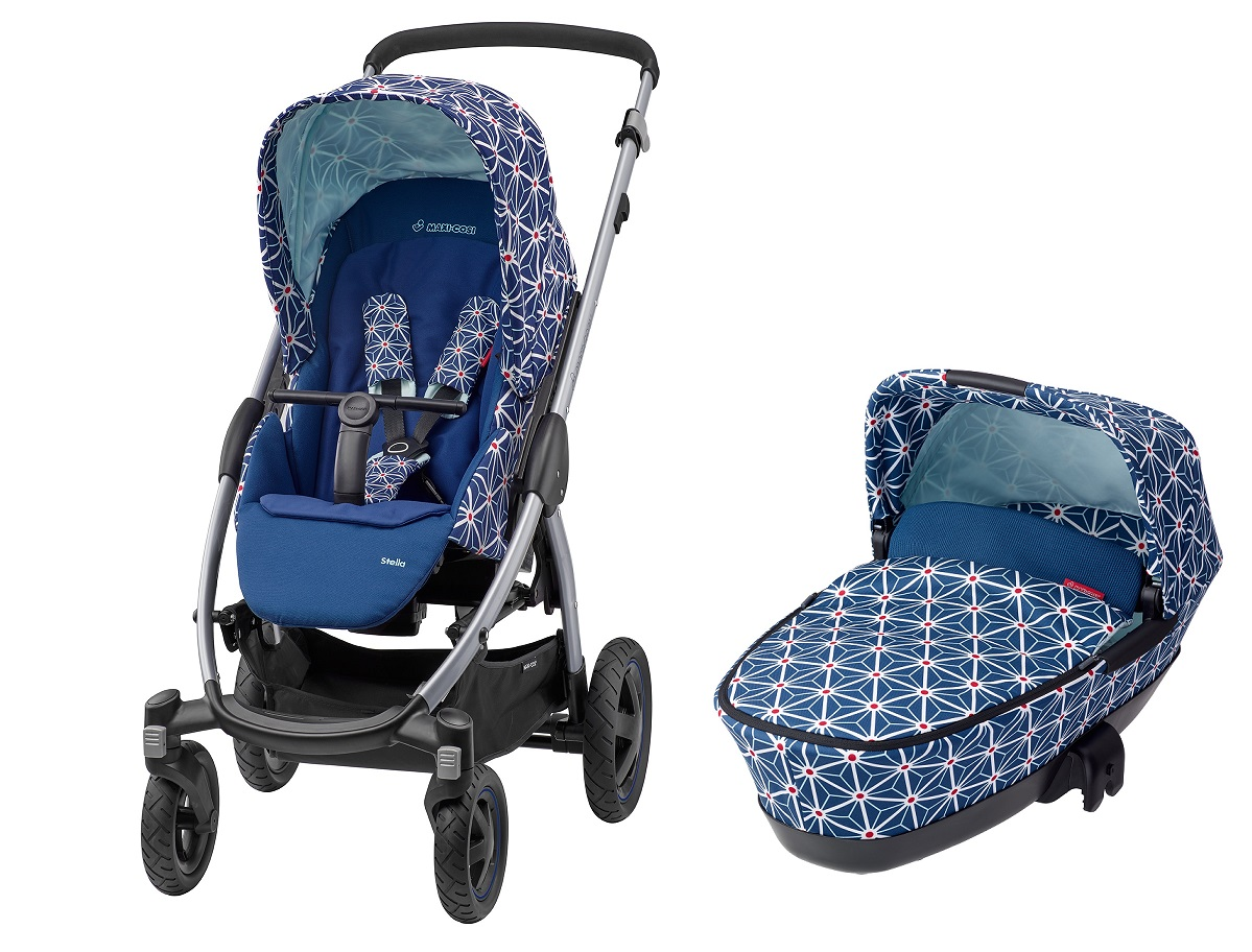 maxi cosi stella including carrycot dreami 2016 star buy at kidsroom strollers. Black Bedroom Furniture Sets. Home Design Ideas