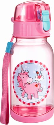 "Haba water bottle ""Unicorn glitter luck"" 2017 - large image"