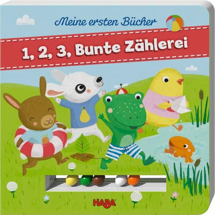 "Haba My first books ""1,2,3 colourful counting"" 2017 - large image"